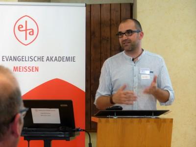 Christian Kurzke, Vorstandsvorsitzender des LAG Jungen- und Männerarbeit Sachsen e.V.