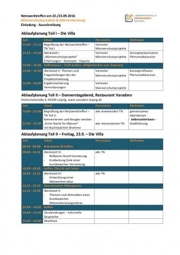 2016-09-22 23 Ablauf-Netzwerktreffen Männerschutz Männerberatung
