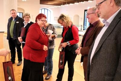 Der Dank von Sylvia wolf von der LAG der kommunalen Gleichstellungsbeauftragten galt neben allen Teilnehmenden auch den Referierenden des Tages.